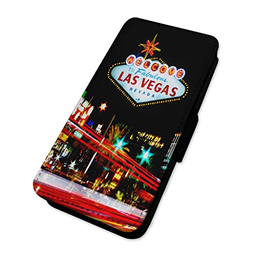 Welcome to las Vegas – Fabulous City Gambling – Flip cover in pelle cover Apple iPhone 5C