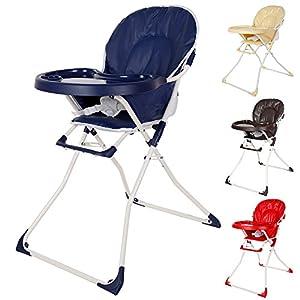 TecTake Trona para niños con bandeja y bebés - disponible en diferentes colores - en BebeHogar.com