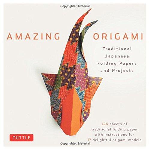 amazing origami kit traditional japanese folding papers