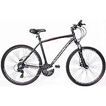 Ammaco CS750, Blocco remoto per forcella 53,34 cm freni a disco idraulici 24 velocità, per ibrido da uomo - Freni Mountain Bike A Disco Idraulici