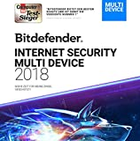 Bitdefender Internet Security Multi-Device 2018/2019 - 3 Jahre / 3 Geräte + VPN -