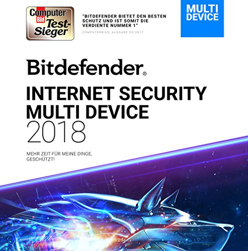 Bitdefender Internet Security 2018 - 1 Jahr / 1 PC + VPN