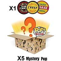 Funko POP! Mystery 6 Pack w/ 1 Random Limited Edition CHASE - Stylized Vinyl Figure Set NEW