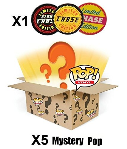 Funko-POP-Mystery-6-Pack-w-1-Random-Limited-Edition-CHASE-Stylized-Vinyl-Figure-Set-NEW