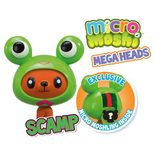 Image of Moshi Monsters Mega Heads Scamp