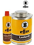 Effax Leder-Combi 50ml und Effax Leder-Öl mit Pinsel