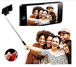 GKP Products ® Selfie Stick(Battery-Free) with In-built Remote Shutter | For iPhone, Andriod, Gopro & other Smartphones