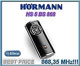 Hörmann HS 5-868 BS Fernbedienung, schwarz, 868,3Mhz, BiSecur 5-Kanal-Sender Hochwertige Original-Fernbedienung von Hörmann mit sehr gutem Preis-Leistungs-Verhältnis.