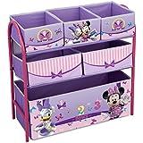 Disney Princess - Estantería infantil (6 cajones, 64,8 x 28 x 62,2 cm aprox.)