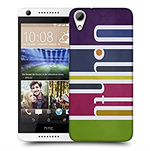 Snoogg Colorful Pattern Design Designer Protective Back Case Cover For HTC 626