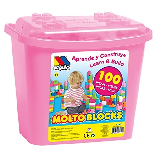 Cubeta Blocks Rosa 100 pcs.