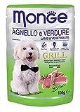 MONGE Grill Briefumschläge Lamm/Gemüse GR 100