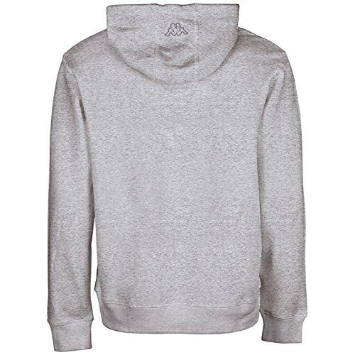 Kappa Herren Wanja Hooded Sweatshirt Grey Melange