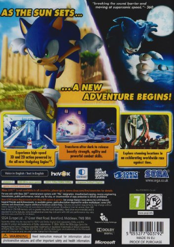 Image of Sonic Unleashed - Classics Edition (Xbox 360)