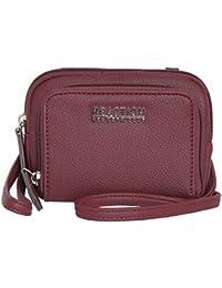55063c6c2b Kenneth Cole REACTION Kris Wallet Cross body Bag Wrislet (BERRY JAM)