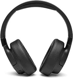 JBL T750BTNC – Bluetooth Over-Ear Kopfhörer in Schwarz mit Noise Cancelling – Ohrhörer kompatibel mit Siri, Google Now und Alexa – Langer Musikgenuss von bis zu 15 Stunden