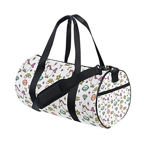 COOSUN Einhorn-Tasche mit Handy für Sport, für Damen und Herren