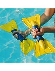 Aqua Eau de Piscine TPU Sveltus rames Flottantes Turquoise