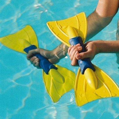 Aqua Wasser Pool schwimmen Training TPU Floating SVELTUS Aqua Oars