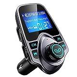 VicTsing Transmetteur FM Bluetooth Ecran de 1.44' Kit Voiture Mains Libres sans Fil...