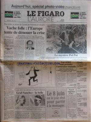 FIGARO L'AURORE (LE) [No 16113] du 07/06/1996 ...