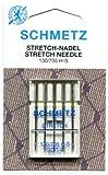 Schmetz - Aghi per macchina da cucire (confezione da 5) - varie misure, 90/14 (Thickest)