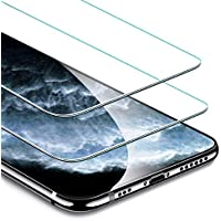 ESR Tempered-Glass for iPhone 11 Pro Screen Protector/iPhone XS Screen Protector[2 Pack][Easy Installation Frame][Case Friendly] Premium Tempered Glass Screen Protector for iPhone 11 Pro/iPhone XS/X