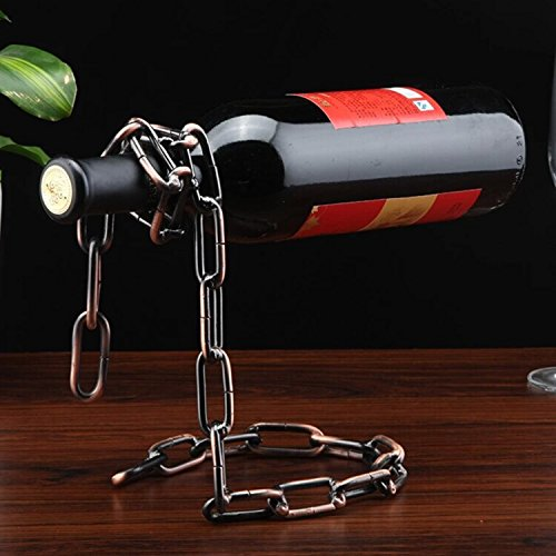 51tHC4mn2-L Floating Chain Wine Bottle Holder