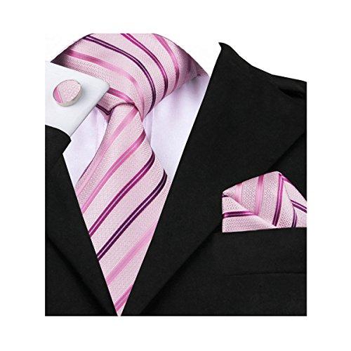 Barry.Wang - Conjunto - para hombre rosa rosa Talla única