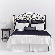 "Mairgwall Adhesivo de pared con diseño de cabecero para cama, estilo parrilla, moderno, decorativo, vinilo, Custom, 34""h x76""w"