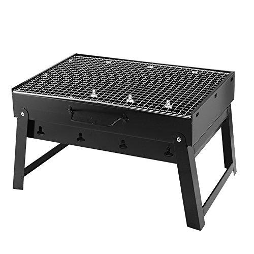 Allescool bbq grill,pratica portatile e pieghevole campeggio mini mini grill barbecue,applicare a 5-7 persone