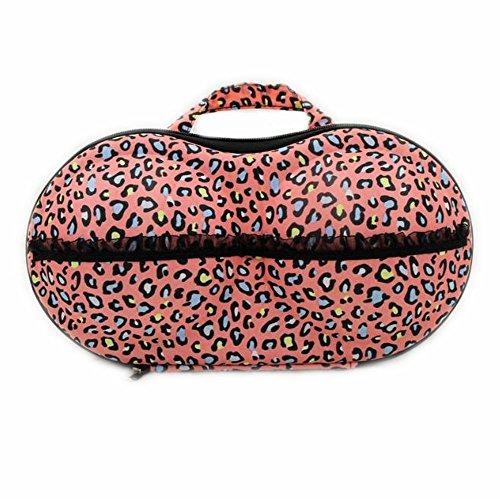 Cdet Estuche portátil de almacenamiento proteja el bolso del recorrido de la ropa interior lingerie bra caja de almacenamiento paquete de sujetador organizador para mujer,Café