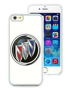 6 4.7 TPU Case,Buick logo White iPhone 6 4.7 inch TPU case
