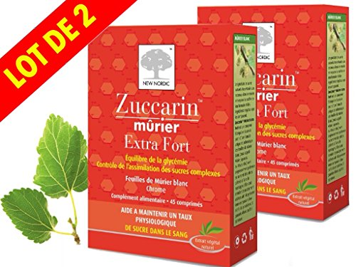 zuccarin-murier-extra-fort-new-nordic-lot-de-2-x-45-comprimes