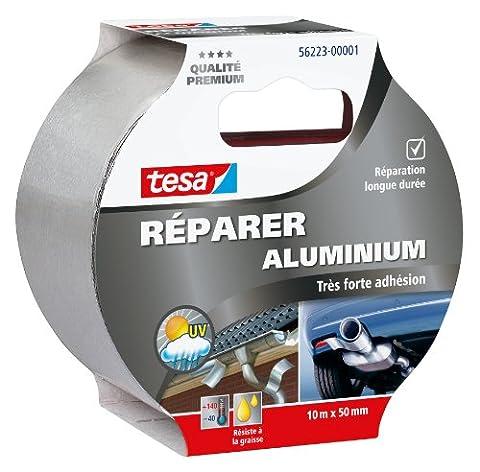 Tesa 56223-00001-01 Réparer Aluminium Très Forte Adhésion 10 m x 50 mm