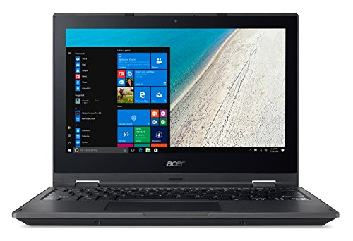 "Acer TravelMate Spin B1 TMB118-G2-RN-P5WE Nero Ibrido 2 in 1 29,5 cm11.6"" 1920 x 1080 Pixel Touch screen 1,10 GHz Intel® Pentium® Silver N5000"