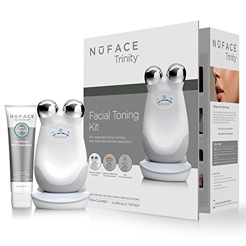 Nuface Trinity Facial Toning Device White color