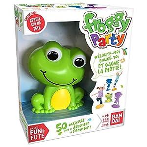 Bandai - Funs & Futés-Froggy Party - Juego Interactivo para la Familia y los niños, ZZ06207