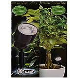 2 x LED Pflanzenstrahler Blumenstrahler Spotlight Strahler Beleuchtung Blume Pflanze