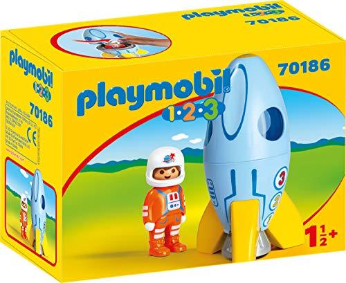 Playmobil 701861.2.3Astronauta con Cohete