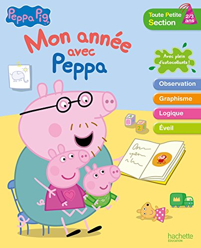 Mon année avec Peppa Pig tps 2/3 ans por Collectif