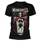 Official T Shirt WEDNESDAY 13 Condolences Album SPIDER Shovel All Sizes
