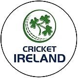 Emblema de la bandera de Irlanda––unidas de Cricket Team (Badge/imán/llavero abridor de botellas) Ireland Emblem Badge (58mm)