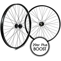 ridewill Bike ruedas MTB 29er Plus Boost 11V Disco Negro (2ruedas)/wheelset MTB 29er Plus Boost 11S Disc Black (wheelset)