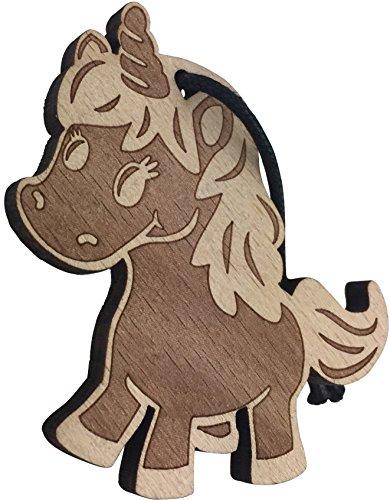 endlosschenken Schlüsselanhänger Einhorn aus Holz niedlicher Anhänger Unicorn Geschenk Design aus Deutschland vom ORIGINAL