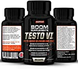 Testosterone Boosters - #1 Proven Testosterone Boosting Supplement For Men And Women* Formerly TESTOBOOM Now TESTO VI* 100% Money Back Guarantee *Best NATURAL Testosterone Booster - 60 Maximum Strength Testosterone Tablets - 1 Month Supply. Manufactured In The UK! (Bottle Design May Vary)