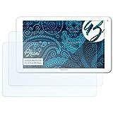 Bruni Schutzfolie für Archos 90b Neon Folie - 2 x glasklare Displayschutzfolie