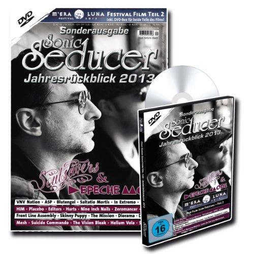 Sonic Seducer Jahresrückblick 2013 + DVD: M'Era Luna 2013 - Der Film (Teil 2) mit über 4 Stunden Spielzeit, Bands: Soulsavers & Depeche Mode, Placebo, In Extremo, Saltatio Mortis u.v.m.