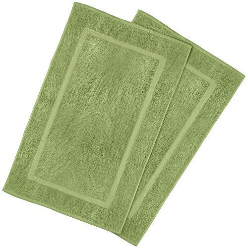 Utopia Towels - Lot de 2 Tapis de Bain en 100% Coton - Tapis Salle Bain - Lavable en Machine (53 x 86 cm)