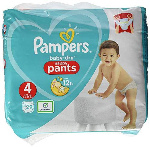 Pampers Baby-Dry Pants Größe 4, Mit Luftkanälen, 29 Windeln